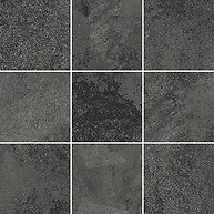 QUENOS GRAPHITE MOSAIC BIG SQUARE MAT